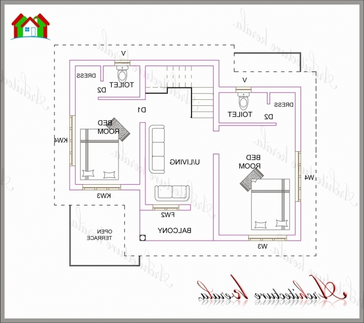 Best 1 Bedroom House Plans Kerala Style Lovely Home Plan Design 800 Sq Ft 1 Bedroom House Plans Kerala Style Pic