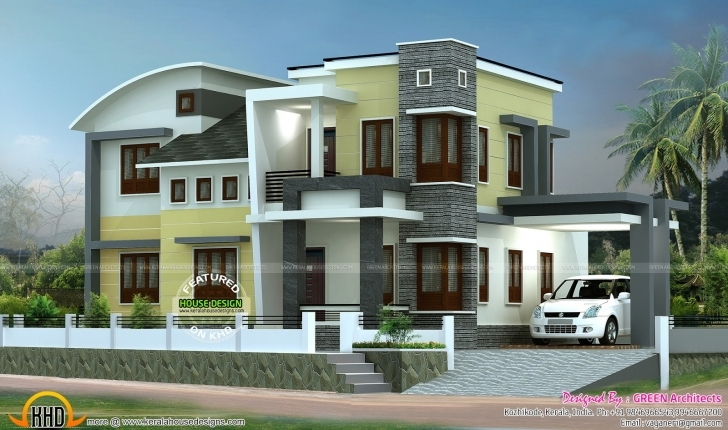 Best 1800 Sq-Ft Double Storied Home Plan | Kerala Home Design | Bloglovin' Kerala Model 750 Sq Veedu Design Picture