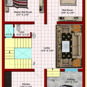 Maps Of House 25*50