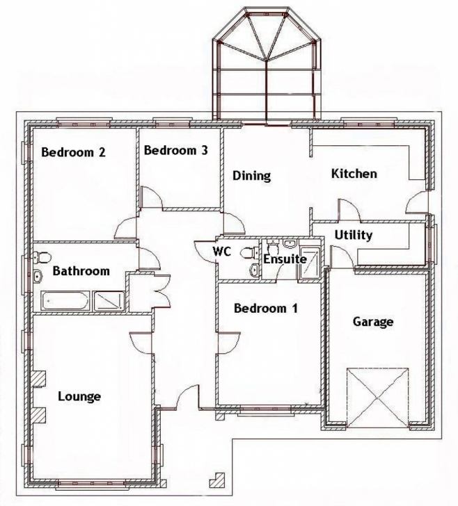 Best 3 Bedroom Bungalow House Designs 3 Bedroom House Floor Plans In 3 Bedroom House Designs And Floor Plans In Kenya Picture