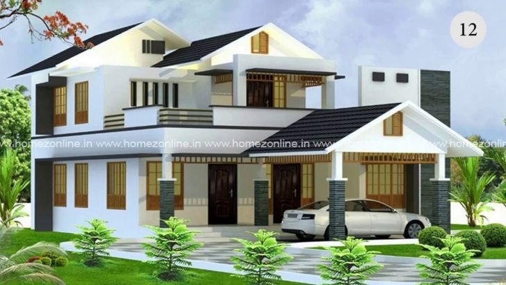 Best 30 Must Watch Latest Hd Home Designs 2017! - Youtube Kerala House Elevation 2017 Picture