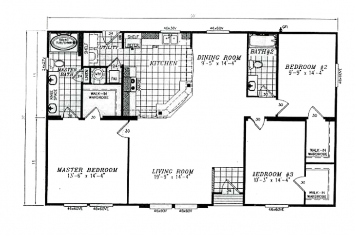 Best 30×50 House Floor Plans | Floor Plans Design 30X50 Home Floor Plans Photo