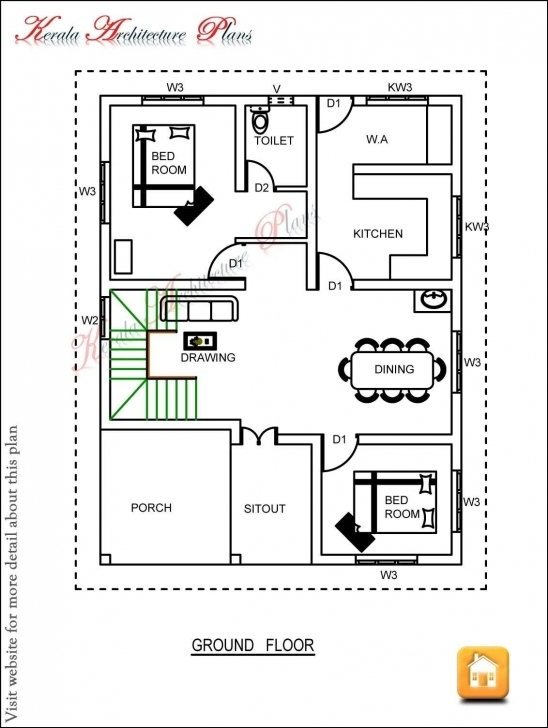 Best 6 Coolest 3 Bedroom Simple Home Plan Bedroom Duplex House Plans In Kerala Simple Home Plans 3 Bedrooms Picture