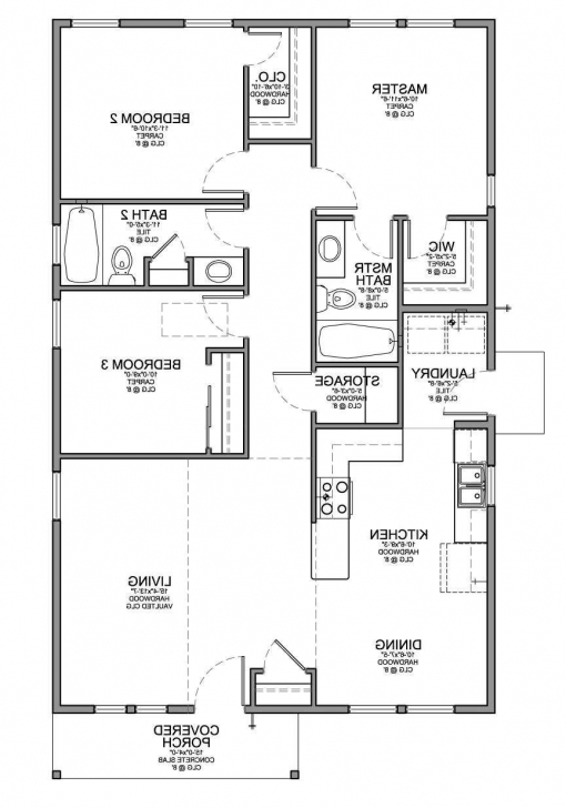 Best 6 Fantastic Floor Plan For Small House With 3 Bedrooms Bedroom Small 3 Bedroom House Plans Picture