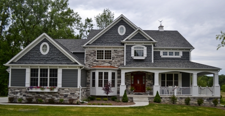 Best An Exterior Shot Of One Version The Eleanor Steinerhomes Inside Brick House Plans With Porches Picture