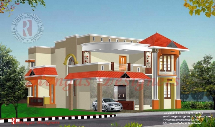 Best Architectures : Front Elevation N House Designs Houses Cheap Front Indian House Plan Photo Gallery Picture