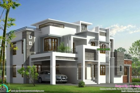 Contemporary House Model Kerala