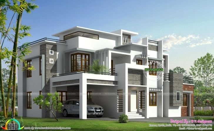 Best Box Model Contemporary House Kerala Home Design And | Cool House Contemporary House Model Kerala Picture