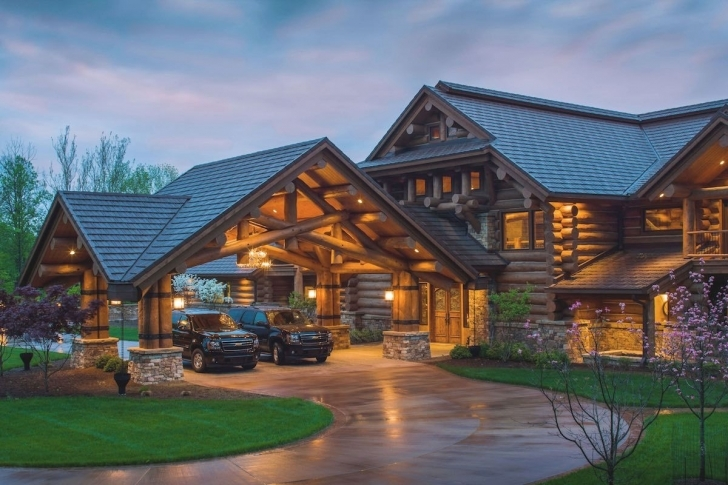 Best Discover Western Lodge Log Home Designs From Pioneer Log Homes. Be Luxury Mountain Lodge Home Plans Photo
