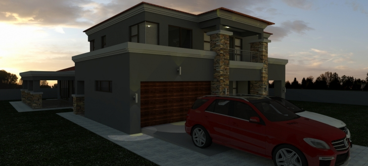 Best Double Storey House Plans With Balcony In South Africa Awesome House Double Storey House Plans In Limpopo Pic