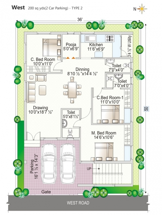 Best Floor Plan - Navya Homes At Beeramguda, Near Bhel, Hyderabad - Navya Vastu Home Designs In Telangana Picture