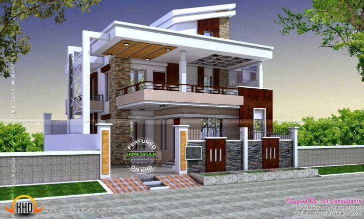 Best Fresh Indian Home Exterior Designs Gallery | Homeideas Indian House Photo Gallery Picture