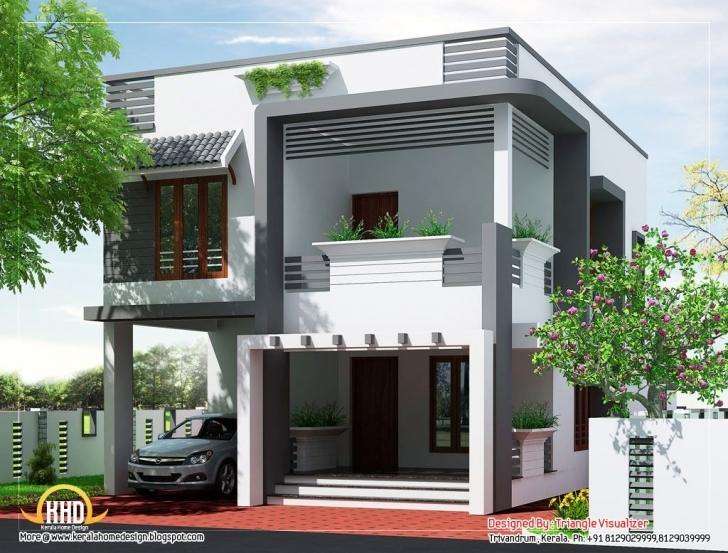 Best Front House Design Philippines | Budget Home Design Plan - 2011 Sq 100 Square Yard House Elevation Pic