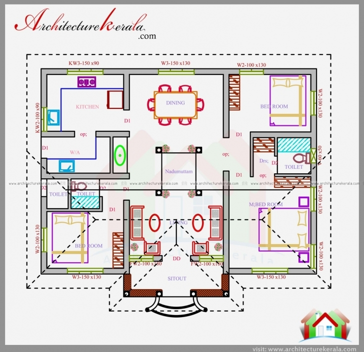 Best Home Architecture: Sq Ft House Plan In Nalettu Design Architecture Kerala House Plans Free Download Photo