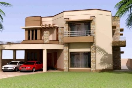 Pakistani House Front Elevation Designs