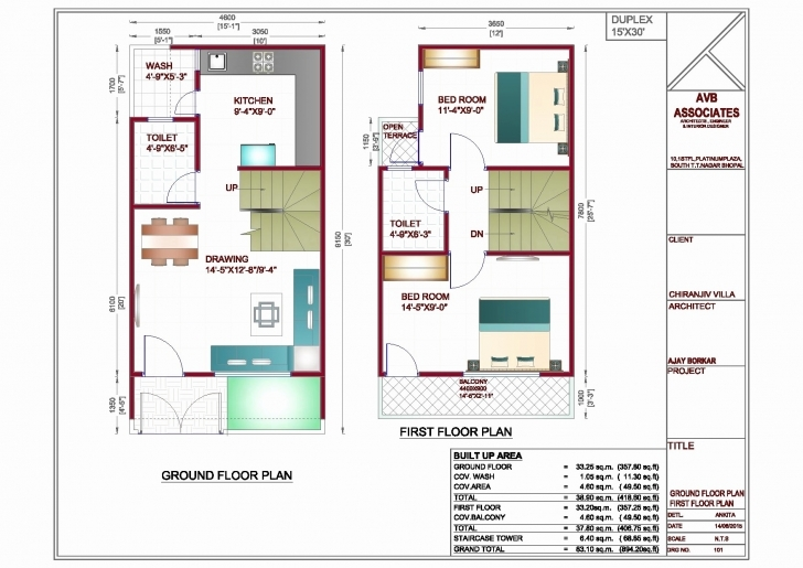 Best House Plan For 20X40 Site Awesome 20 X 40 House Plans Awesome Home 20*50 Duplex House Plan Photo