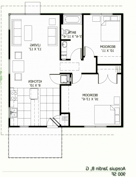 Best House Plans Below 1000 Square Feet In Kerala Lovely Home Plans 1000 Sq House Plan And House Pothos Image