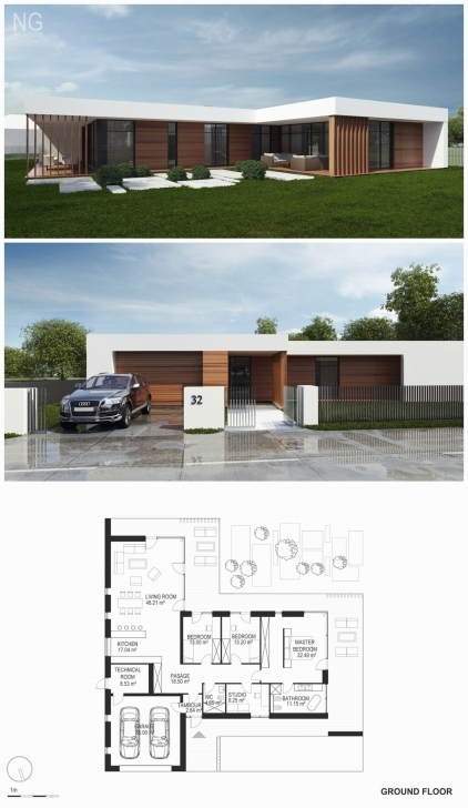 Best House Plans For Small Lots Fresh Small Modern House Plan And Small Modern House Plan And Elevation Photo