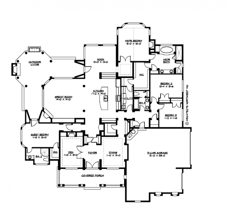 Best Incredible Ideas 2700 Square Foot House Plans 13 Sq Ft Planskill 2700 Sq Ft Home Plan Picture
