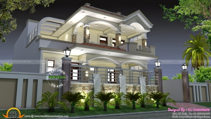 Best Indian Home Design 3D Plans Unique April 2015 Kerala Home Design And New House Plans For April 2015 Pic