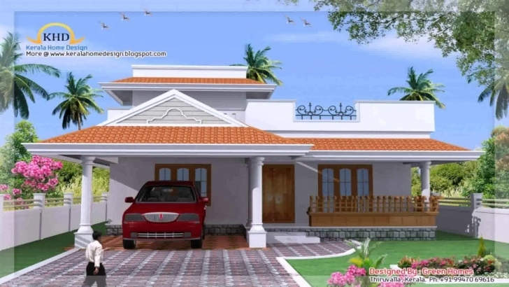 Best Kerala Style 3 Bedroom House Plans - Youtube Kerala 3 Room House Pic