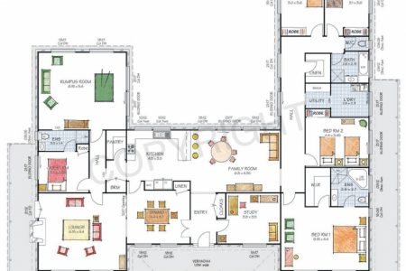 L Shaped House Plans Australia