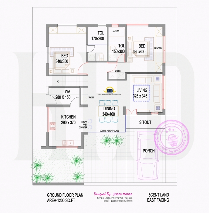 Best Luxury Design House Plans 4 Cents Kerala 8 This House Can Be Built House Plans 4 Cent Plot Image