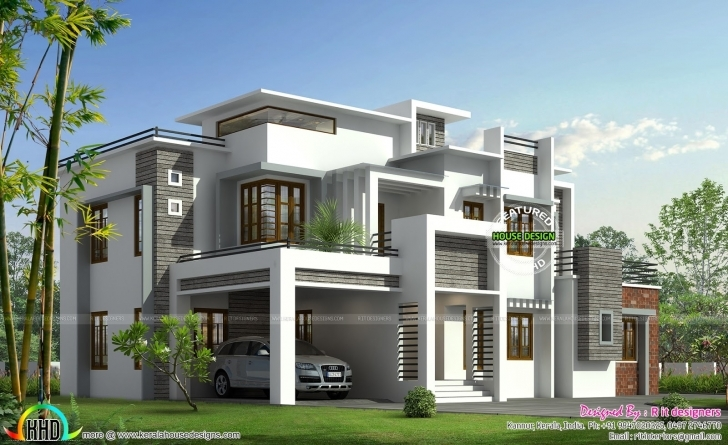Best Modern Contemporary House Plans In Kerala Home Design And Style Contemporary Model House Pic