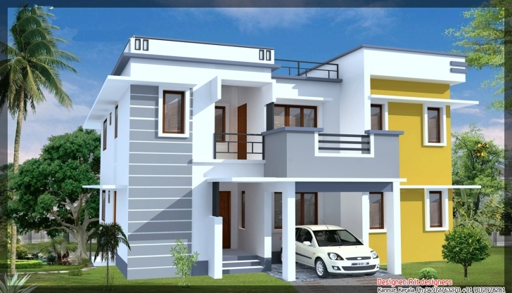 Best Modern House Elevation - Home Plans & Blueprints | #42815 Simple Building Plan With Front Elevation Image