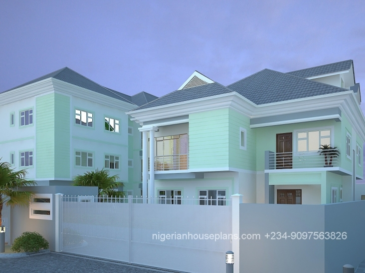 Best Nigerian House Plans Samples Medium Class Duplex In Nigeria – Modern Nigerian House Plans With Photos Picture