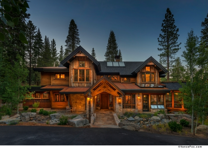 Best Rustic Mountain Home Designs - Homes Design Modern Rustic Mountain Home Pic