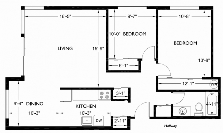 Best Two Bedroom House Floor Plans South Africa New Remarkable 2 Bedroom Floor Plan Of 2 Bedroomed House In South Africa Photo