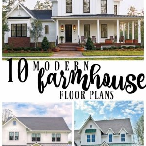 Modern Farmhouse Plans With Pictures