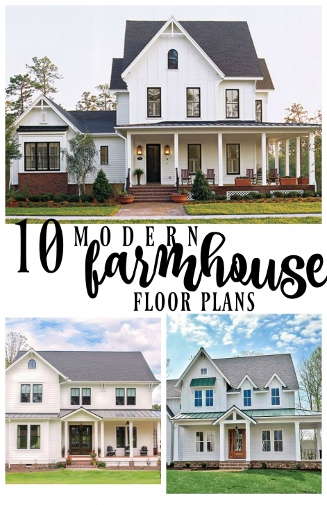Brilliant 10 Modern Farmhouse Floor Plans I Love - Rooms For Rent Blog Modern Farmhouse Plans With Pictures Photo