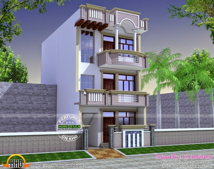 Brilliant 20 X 60 House Plan Design Unique Indian House Design Front Elevation 20 X 60 House Elevation Photo