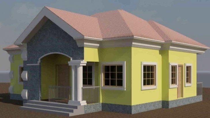 Brilliant 3 Bedroom Flat Plan Drawing In Nigeria - Youtube Pictures Of 3 Bedroom Flat In Nigeria Image