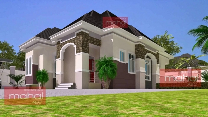 Brilliant 3 Bedroom Modern House Plans In Nigeria - Youtube 3 Bedroom House Plans In Lagos Nigeria Photo