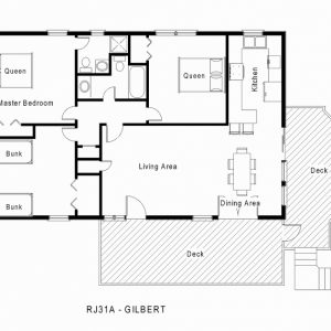 Free Single Story House Floor Plans