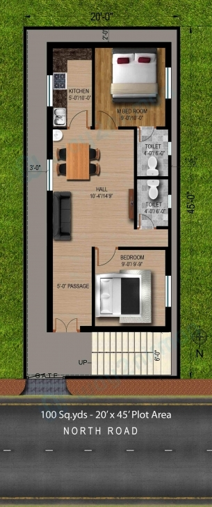 Brilliant 60 X 40 House Plans West Facing Lovely House Plan For South Facing 20*45 House Plan South Facing Picture