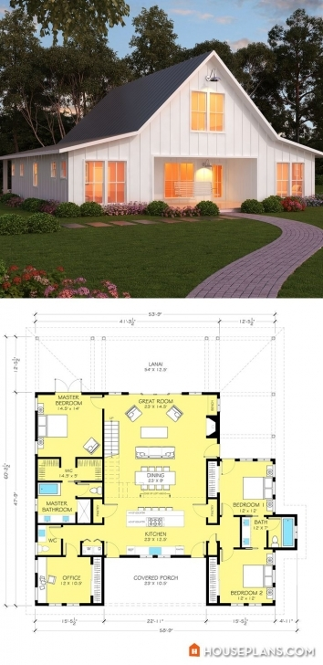 Brilliant 726 Best Architecture Images On Pinterest | Modern Houses, Cottage Tiny Small Barn Brick House Plans Photo