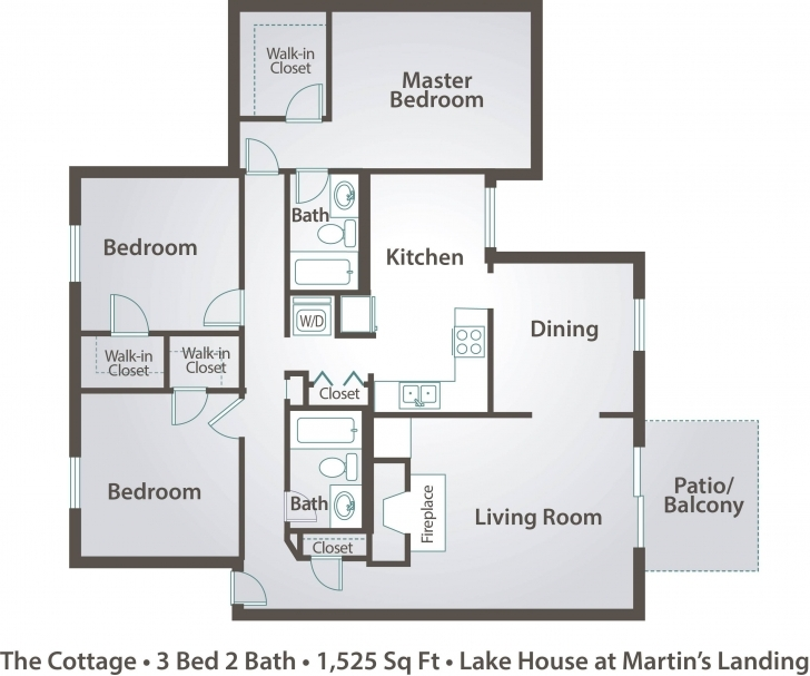 Brilliant Floor Plans For Apartments 3 Bedroom Fresh Floor Plan Of 3 Bedroom Floor Plan Of Three Bedroom Flat Picture