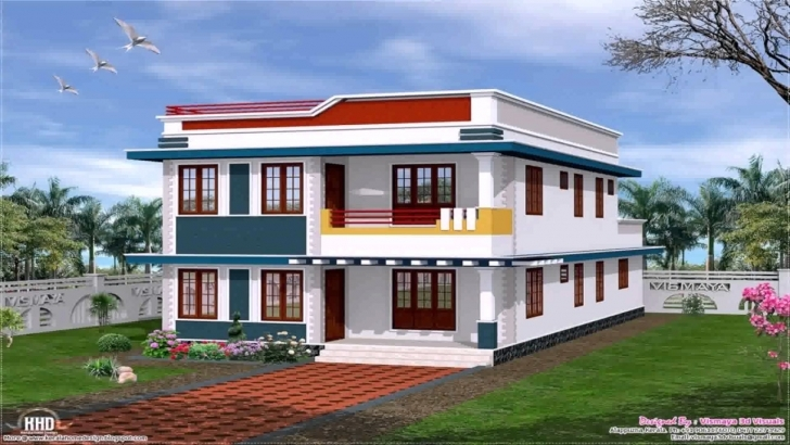 Brilliant Front Elevation Design Of House Pictures In India - Youtube Indian House Elevation Photo Gallery Photo