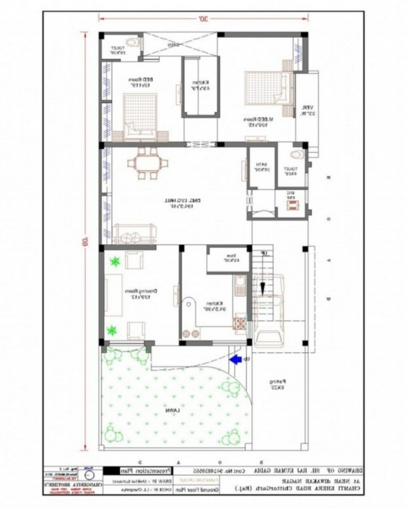 Brilliant Home Plan 15 X 60 Elegant Remarkable 30 60 House Plan S Exterior 15 X 60 House Plans India Photo