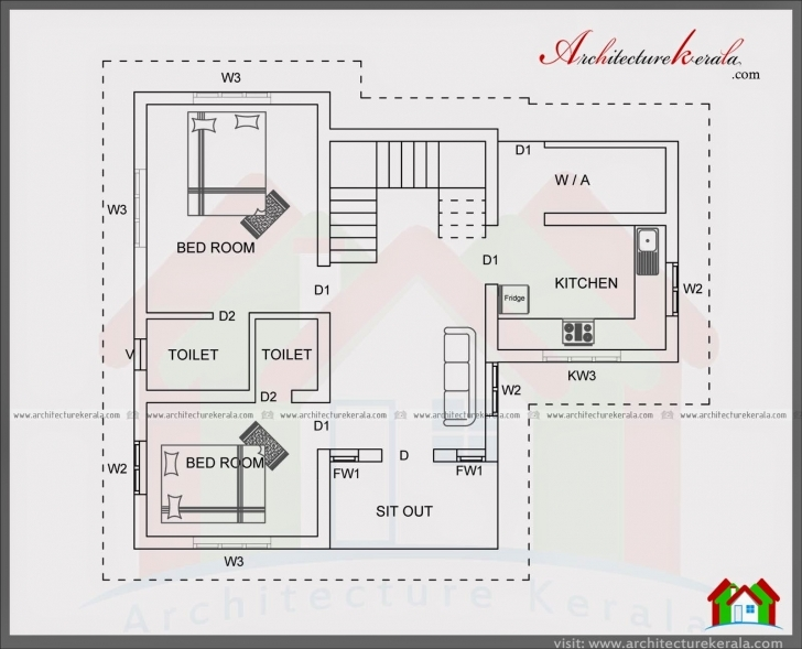 Brilliant Home Plan Elevation Kerala Lovely 4 Bedroom House Plan In 1400 G+2 Residential Building Plan And Elevation Photo