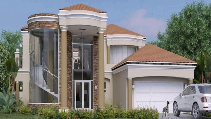 Brilliant House Designs And Floor Plans Ghana - Youtube 4 Bedroom Storey Building Plan In Ghana Photo