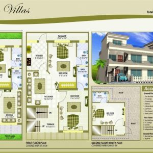 30*45 North Face House Plan