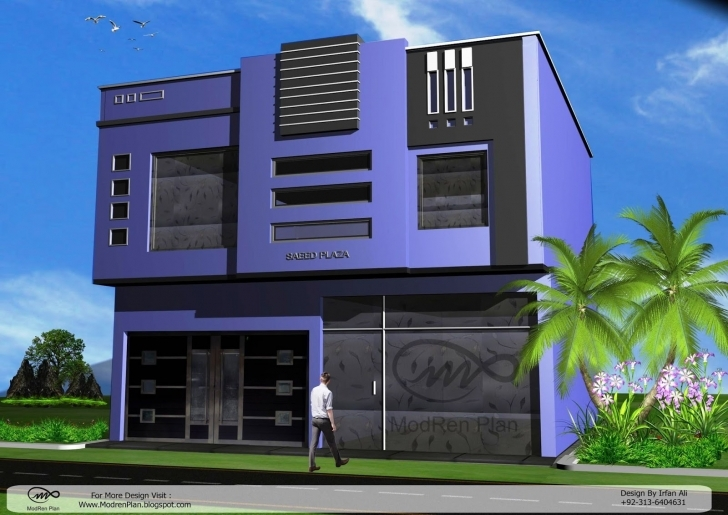 Brilliant Modern Commercial Building Designs And Plaza Front Elevation Best Building Plan With Elevation Pic