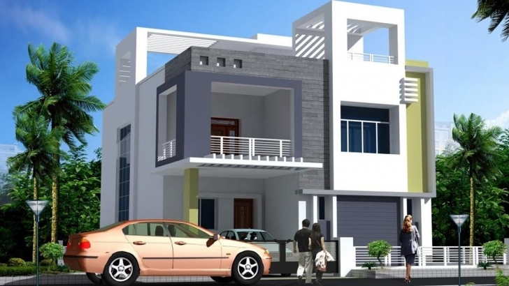 Brilliant Modern Double Floor House Front Elevation Plans And Designs Front Elevation Of House Image