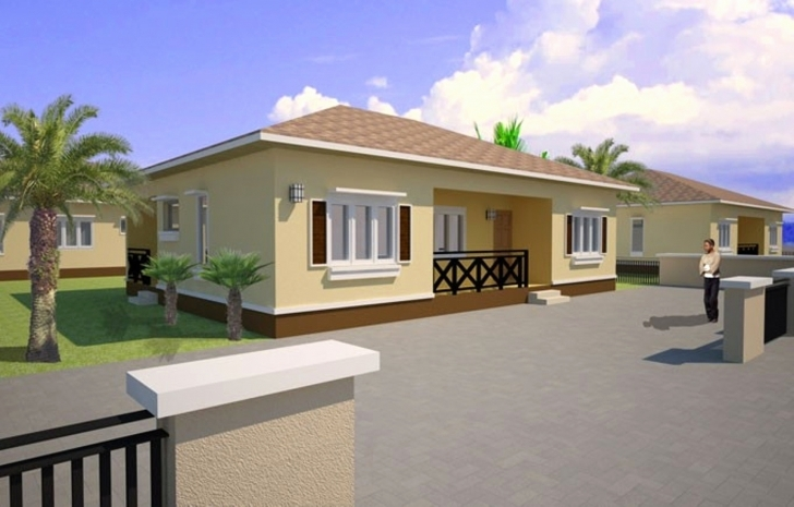 Brilliant Three Bedroom Bungalow House Plans In Nigeria Lovely Contemporary 3 Bedroom Building Plan In Nigeria Picture