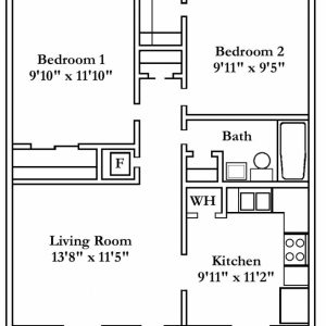 Four Bedroom Flat Floor Plan